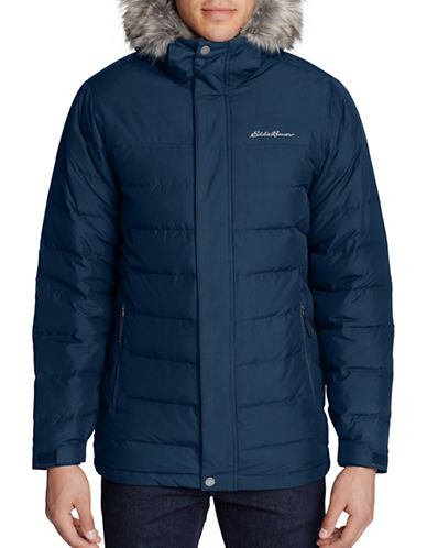 Eddie Bauer Boundary Pass Down Parka-BLUE-Medium