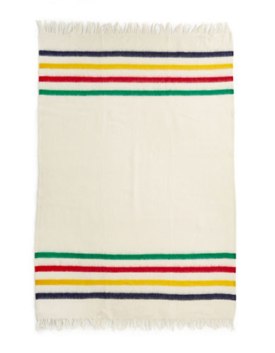 HudsonS Bay Company Caribou Throw   Multistripe-MULTI-STRIPE-One Size