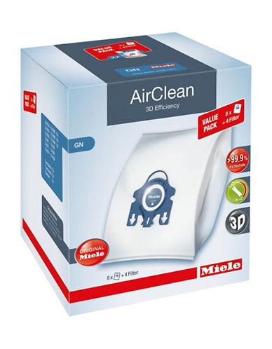 Miele Sacs à poussière grand format AirClean, paquet de huit photo