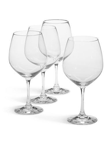 Spiegelau Set of 4 Burgundy Wine Glasses-CLEAR-One Size