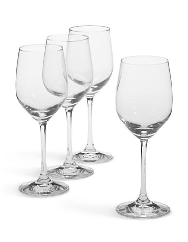 Spiegelau Set of 4 White Wine Glasses-CLEAR-One Size