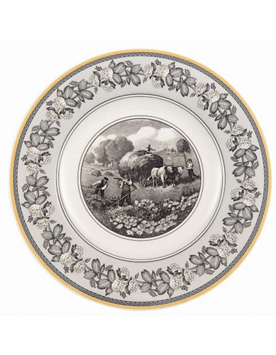 Villeroy & Boch Audun Ferme Dinner Plate-MULTI-COLOURED-10.5in