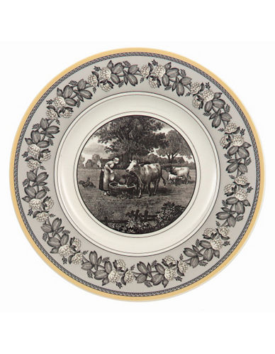Villeroy & Boch Audun Ferme Salad Plate-MULTI-COLOURED-8.5 Inches