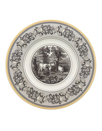 Villeroy & Boch Audun Ferme Bread And Butter Plate-BLACK & WHITE-One Size