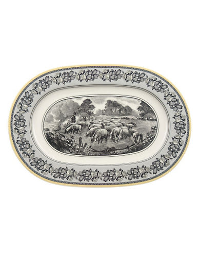 Villeroy & Boch Audun Ferme Oval Platter-MULTI-COLOURED-One Size