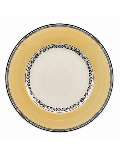 Villeroy & Boch Audun Fleur Dinner Plate-YELLOW-10.5in