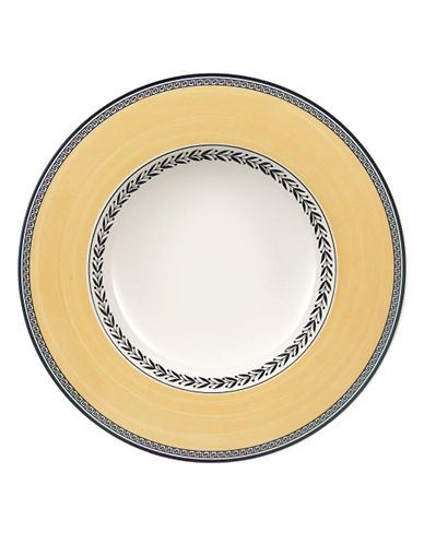 Villeroy & Boch Audun Fleur Rim Soup Bowl-MULTI-COLOURED-One Size