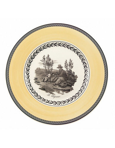 Villeroy & Boch Audun Chasse Salad Plate-MULTI-COLOURED-8.5 Inches