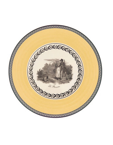 Villeroy & Boch Audun Chasse Bread And Butter Plate-MULTI-COLOURED-One Size