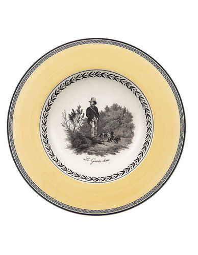 Villeroy & Boch Audun Chasse Rim Soup-MULTI-COLOURED-One Size