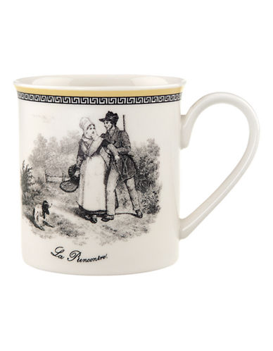 Villeroy & Boch Audun Chasse Mug-MULTI-COLOURED-One Size