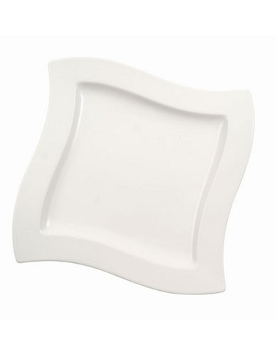 Villeroy & Boch New Wave Dinner Plate-WHITE-10.5in