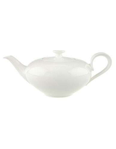 Villeroy & Boch Anmut Teapot-WHITE-One Size