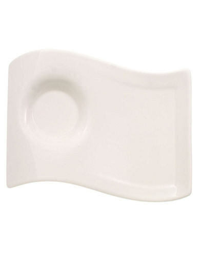 Villeroy & Boch New Wave Cafe Small Party Plate-WHITE-One Size