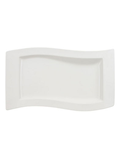 Villeroy & Boch New Wave 19 1 4  Serving Dish-WHITE-One Size