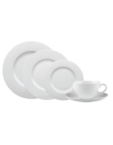 Villeroy & Boch Anmut 5 Piece Place Setting-WHITE-One Size