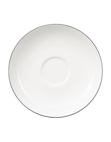 Villeroy & Boch Anmut Platinum Tea Saucer-WHITE-One Size