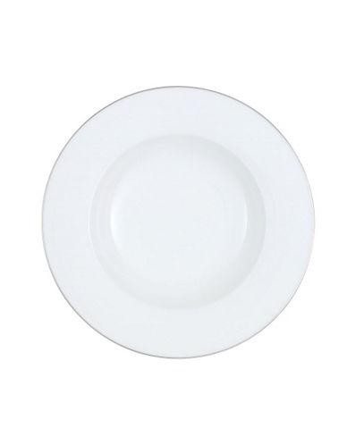 Villeroy & Boch Anmut Platinum Rim Soup-WHITE-One Size