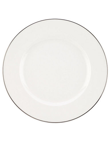 Villeroy & Boch Anmut Platinum Round Platter-WHITE-One Size