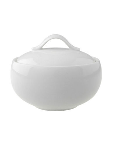 Villeroy & Boch New Cottage Basic Covered Sugar-WHITE-One Size