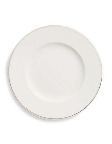 Villeroy & Boch Anmut Platinum Bone Porcelain Bread and Butter Plate-WHITE-One Size
