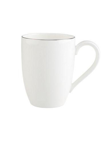 Villeroy & Boch Anmut Platinum Mug-WHITE-One Size