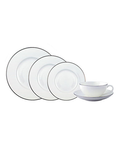 Villeroy & Boch Anmut Platinum 5 Piece Place Setting-WHITE-One Size