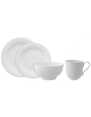 Villeroy & Boch New Cottage Basic 4 Piece Place Setting-WHITE-One Size