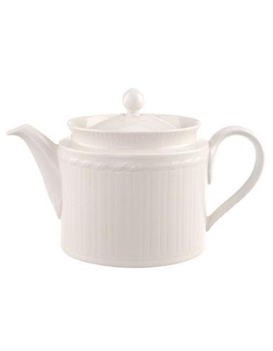Villeroy & Boch Cellini Teapot-WHITE-One Size