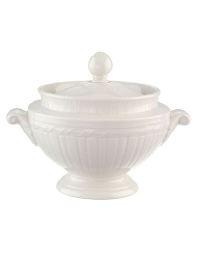 Villeroy & Boch Cellini Covered Sugar-WHITE-One Size