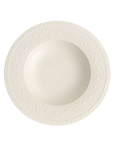 Villeroy & Boch Cellini Rim Soup-WHITE-One Size