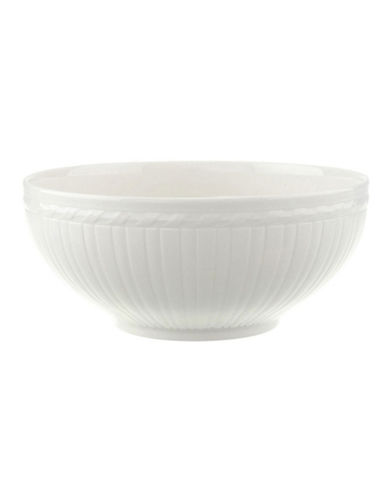 Villeroy & Boch Cellini Round Vegetable-WHITE-One Size