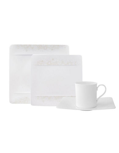 Villeroy & Boch Modern Grace 4 Piece Place Setting-WHITE-One Size 84512746_WHITE_One Size