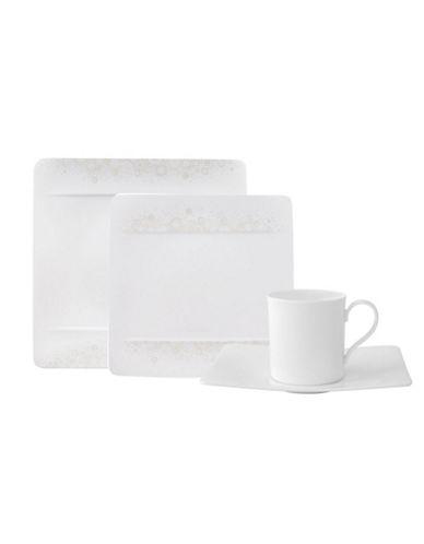 Villeroy & Boch Modern Grace 4 Piece Place Setting-WHITE-One Size