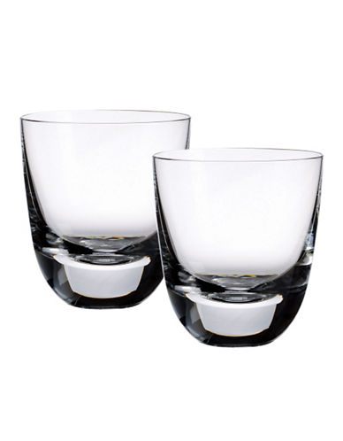 Villeroy & Boch American Bar 3.5 Inch  Cocktail Tumbler Set Of 2-CLEAR-One Size