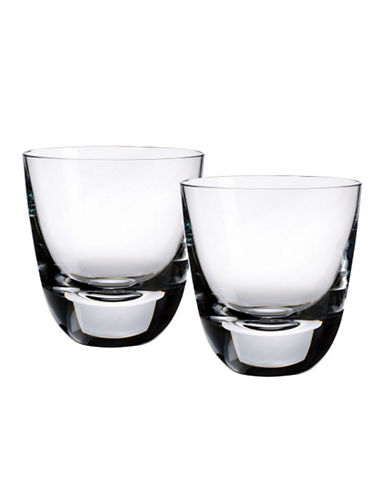 Villeroy & Boch American Bar 3 3 4  Old Fashioned Tumbler  Set Of 2-CLEAR-One Size