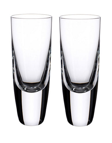 Villeroy & Boch American Bar 5.5 Inch Shot Tumbler  Set Of 2-CLEAR-One Size