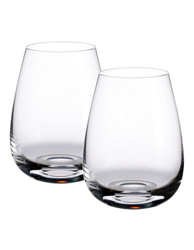 Villeroy & Boch Scotch Whiskey 4.75 Inch Highlands Whickey Tumbler  Set Of 2-CLEAR-One Size