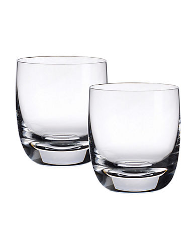 Villeroy & Boch Set Of 2 Blended Scotch Tumbler Number 1-CLEAR-One Size