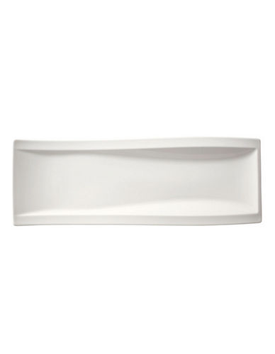 Villeroy & Boch Newwave Antipasti Plate-WHITE-One Size