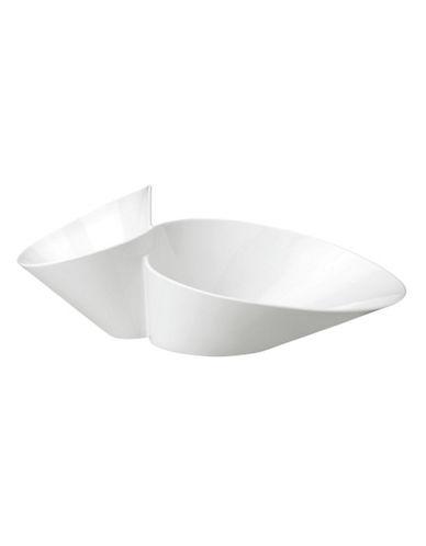 Villeroy & Boch New Wave Chip N Dip Eye Catcher-WHITE-One Size