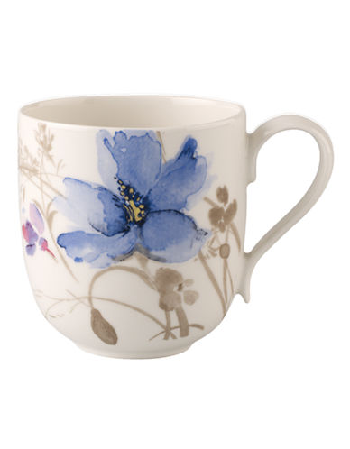 Villeroy & Boch Mariefleur Grey Mug-MULTI COLOURED-One Size