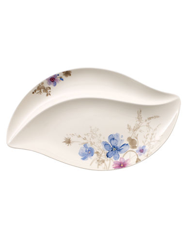 Villeroy & Boch Mariefleur Grey SS Serving Plate-MULTI COLOURED-One Size