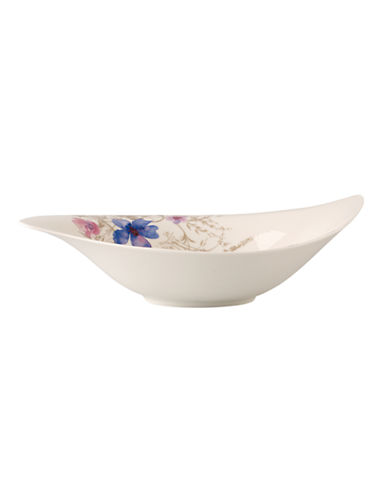Villeroy & Boch Mariefleur Grey SS Salad Bowl-MULTI COLOURED-One Size