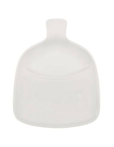 Villeroy & Boch Artesano Handled BBQ Plate 14 Inch-WHITE-One Size