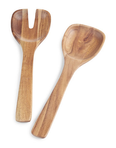 Villeroy & Boch Artesano Original Salad Servers-BROWN-One Size