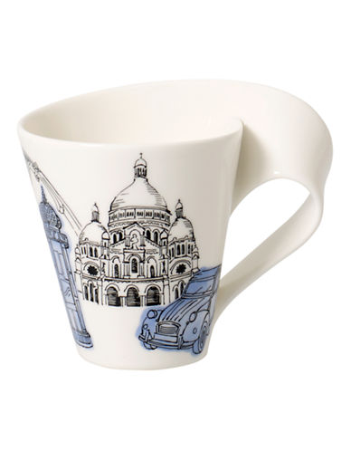 Villeroy & Boch Gift Boxed New Wave Mug Paris-MULTI-COLOURED-One Size