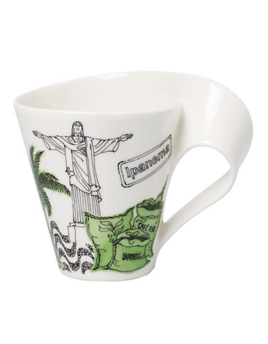 Villeroy & Boch Gift Boxed New Wave Mug Rio de Janeiro-MULTI-COLOURED-One Size