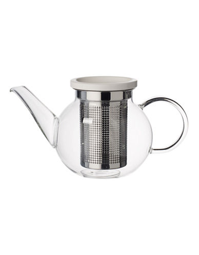 Villeroy & Boch Small Glass Teapot and Strainer-CLEAR-One Size