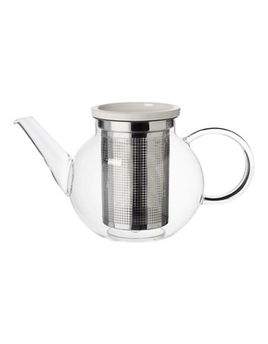 Villeroy & Boch Medium Glass Teapot and Strainer-CLEAR-One Size